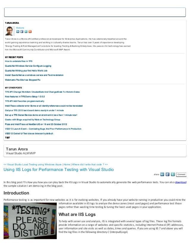 TARUN ARORA            Website Tarun Arora is a Microsoft Certified professional developer for Enterprise Applications. He...