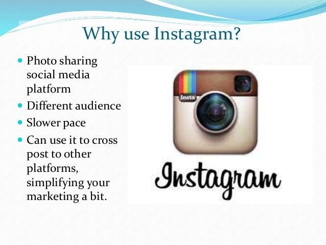 Using Instagram as a Marketing Tool