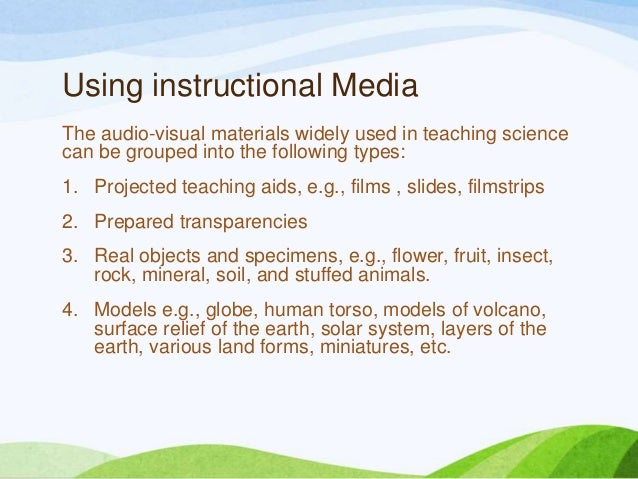 what is instructional media Instructional media (ime) - 2017-2018 catalog donna nigh department of  advanced professional & special services ime 1102 - use of the library.