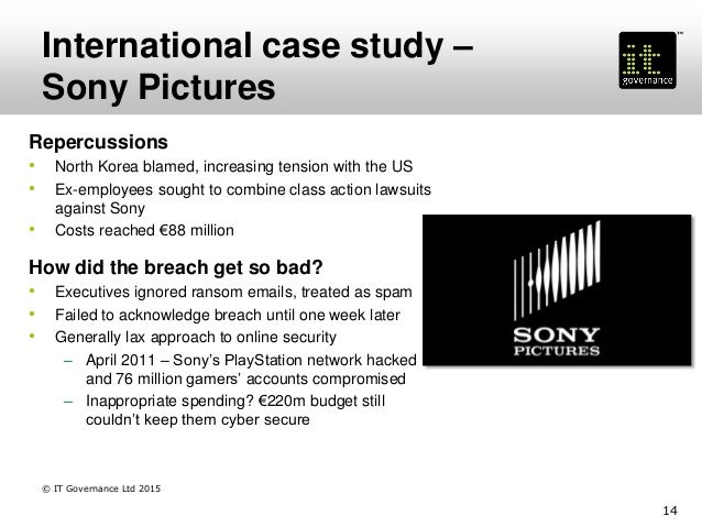 sony the worlds largest data breach case study A data breach is the intentional or unintentional release of secure or private/confidential information to an untrusted environment other terms for this .