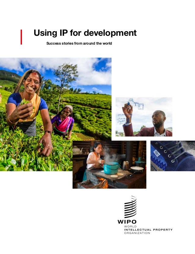 Using IP for development Success stories from around the world