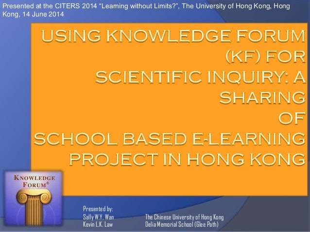 """Presented at the CITERS 2014 """"Learning without Limits?"""", The University of Hong Kong, Hong Kong, 14 June 2014  Presented b..."""