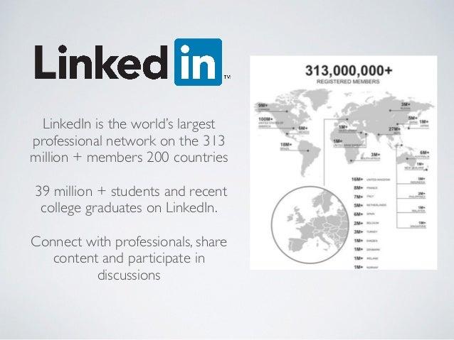 Using LinkedIn 101 Slide 3