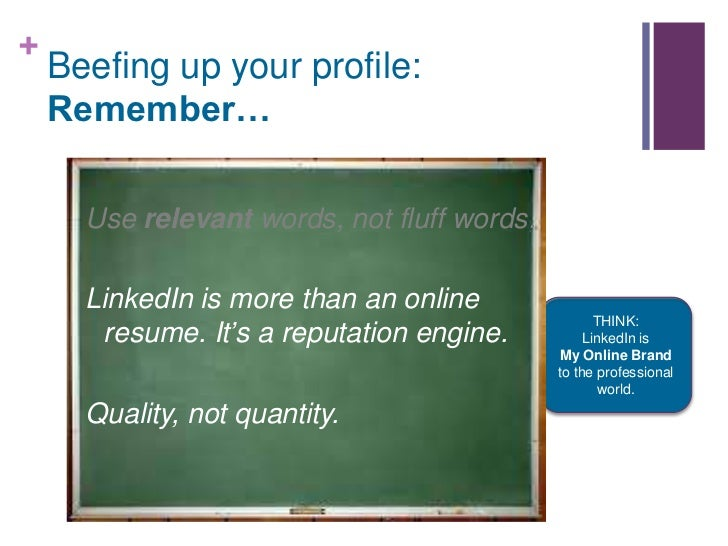 using linkedin to land your