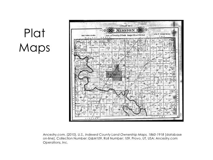 Using Maps in Genealogical Research