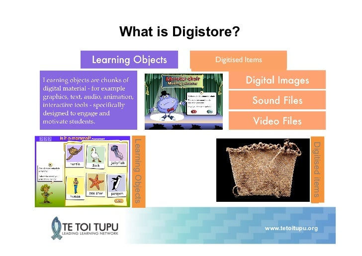 What is Digistore?                     Digitised Items  Learning Objects                                                 ...