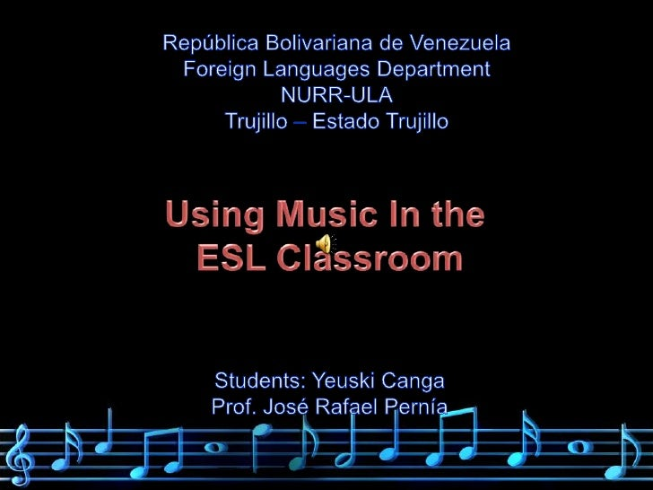 RepúblicaBolivariana de Venezuela<br />Foreign Languages Department<br />NURR-ULA<br />Trujillo – Estado Trujillo<br />Usi...