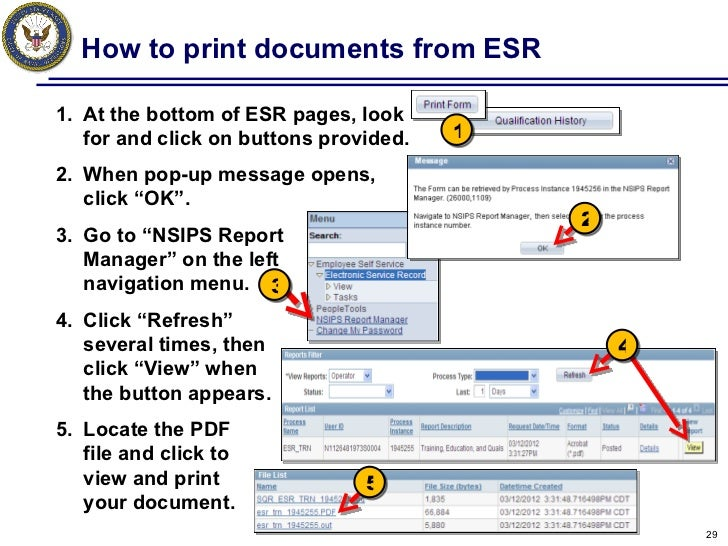 Page 2/Dependency Data can be verified at any time via your NSIPS ESR Self-Service Account. To Verify your Page 2/Dependency Data via NSIPS ESR, sign on to your NSIPS ESR account and comply with the instructions on the following slides.