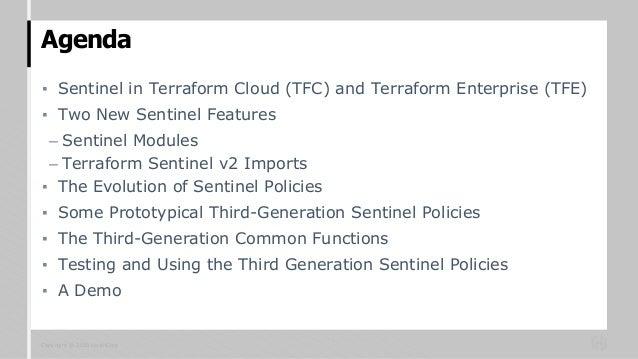 Using new sentinel features in terraform cloud Slide 2
