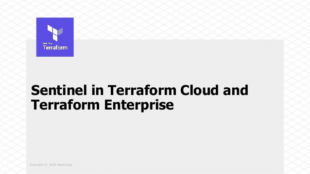 Using new sentinel features in terraform cloud Slide 3