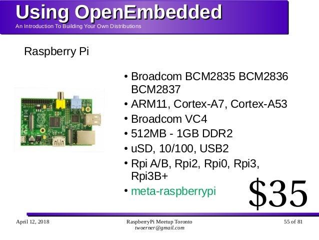 Using OpenEmbedded