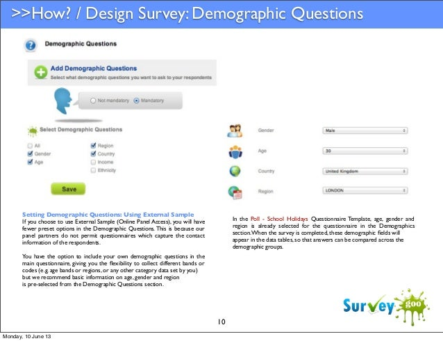 Survey Panels: Using Online Panel Access