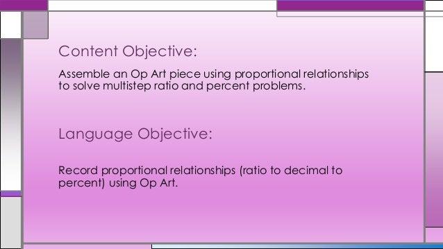 Using op art to teach fraction, decimal Slide 2