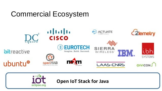 Commercial Ecosystem Open IoT Stack for Java