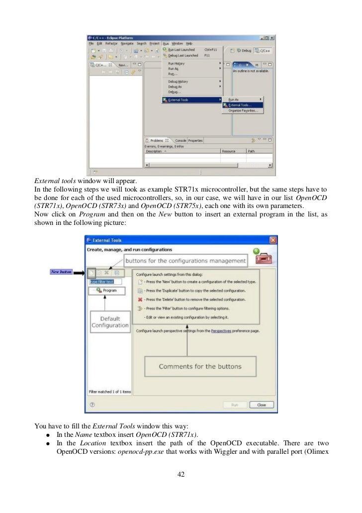 Using Open Source Tools For STR7XX Cross Development