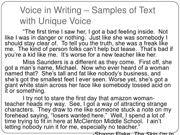 voices of the self essay Six questions about voice and voicelessness dr as i describe in the essays, children's unconscious solutions to voicelessness are often self-destructive.
