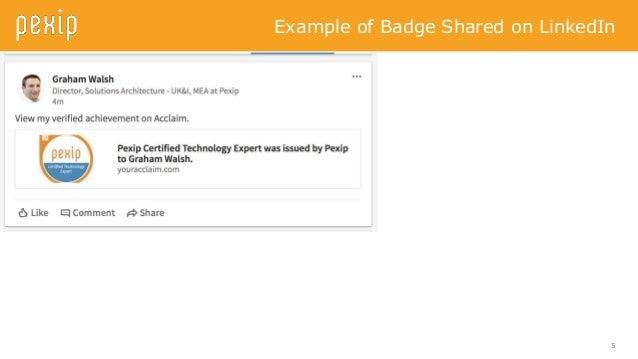 how to add microsoft badge in acclaim