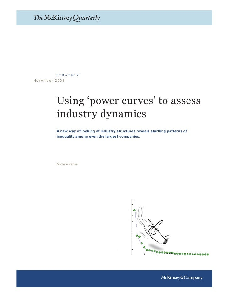 strategy  November 2008              Using 'power curves' to assess          industry dynamics          A new way of looki...