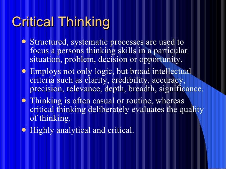 How Critical Thinking Can Help You Solve Problems