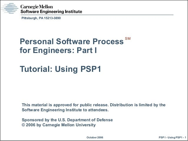 This material is approved for public release. Distribution is limited by the Software Engineering Institute to attendees. ...