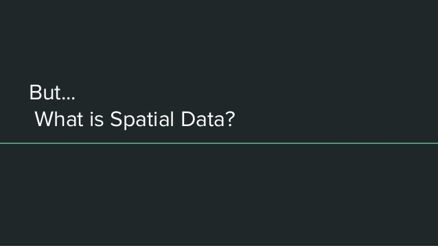 Using python to analyze spatial data