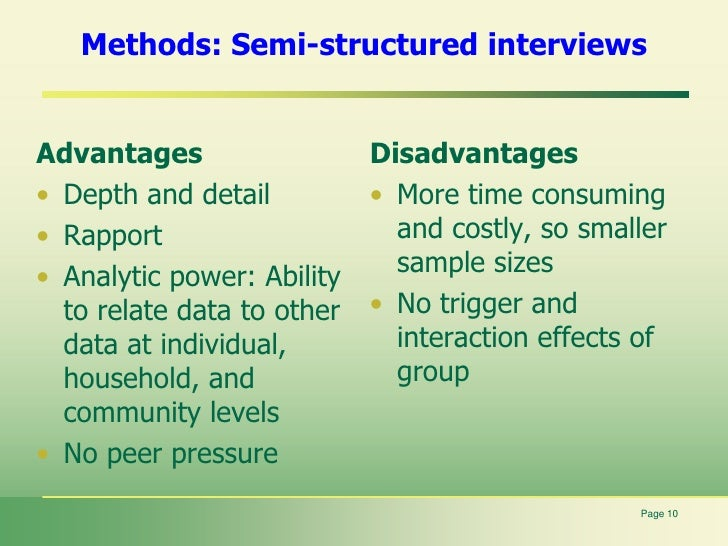 qualitative research advantages and disadvantages