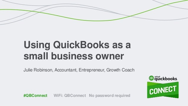 how to create small business in quickbook