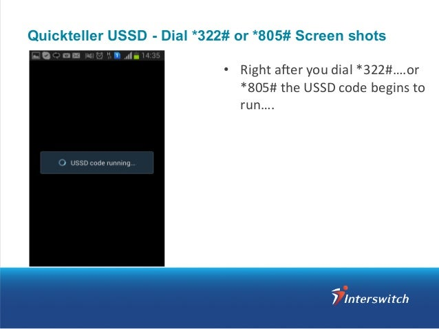 Using Quickteller via USSD from your mobile phone