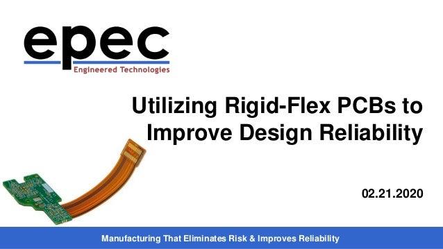 Manufacturing That Eliminates Risk & Improves Reliability Utilizing Rigid-Flex PCBs to Improve Design Reliability 02.21.20...