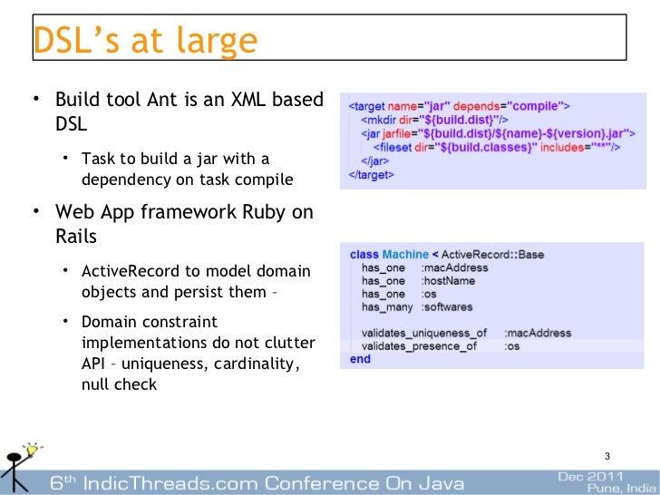 Using Scala for building DSLs Slide 3