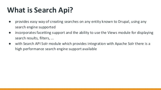 What is Search ...