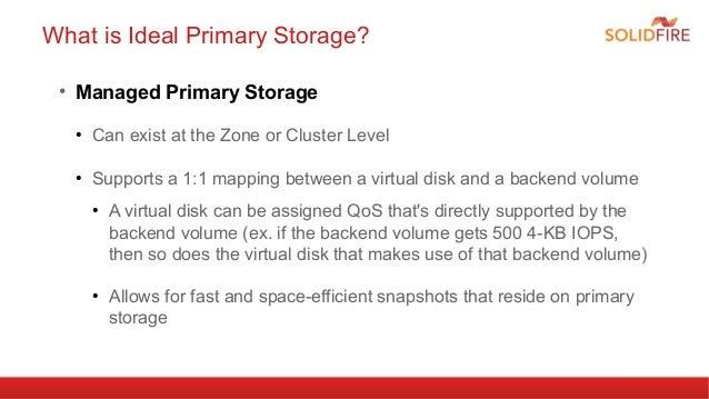 Leveraging Vmware Storage I O Control In Cloudstack