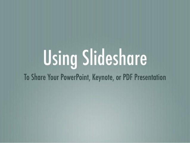 Embedding Slide Shows into Wordpress
