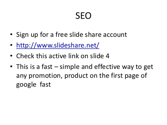 how to get first on google page