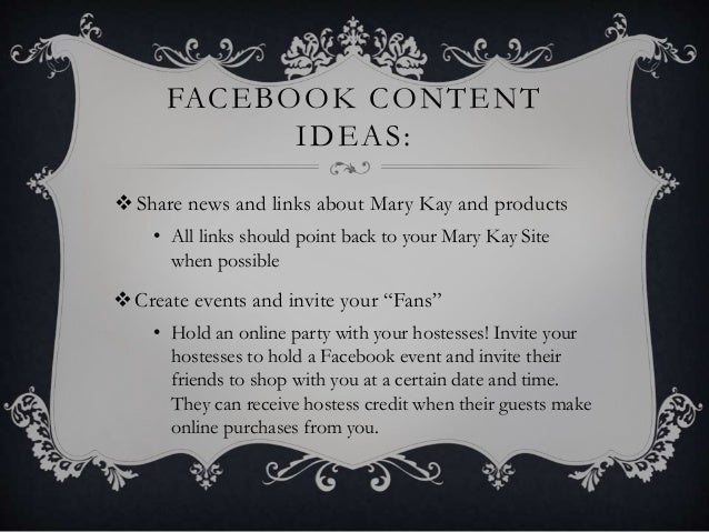 Using Social Media To Promote Your Mary Kay Business