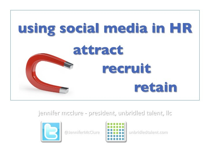 Using Social Media In HR & Recruiting - March 13 2012