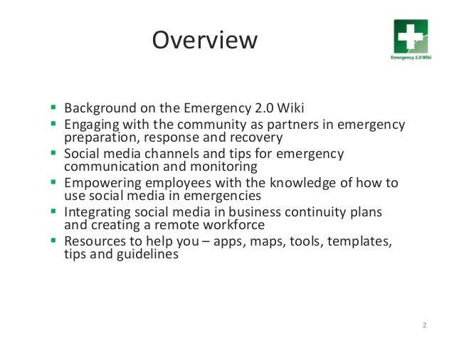 Using Social Media to Build Disaster Resilience Slide 2