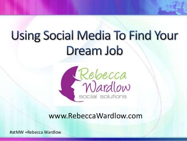 #atMW +Rebecca Wardlow www.RebeccaWardlow.com