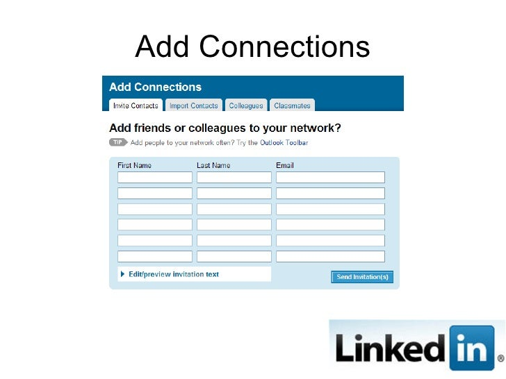 Add Connections