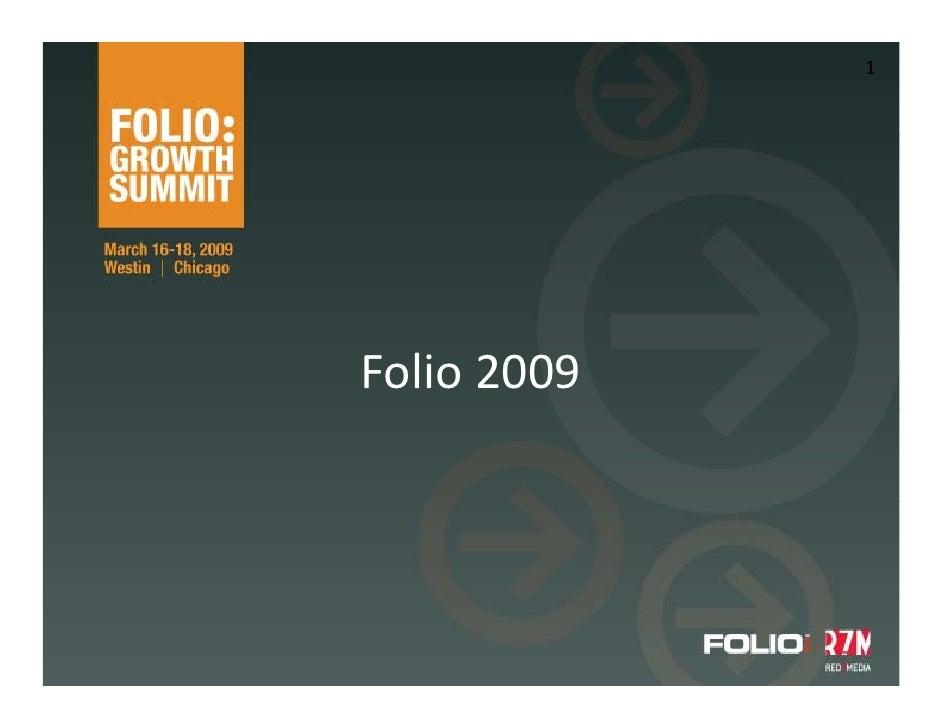 1     Folio2009