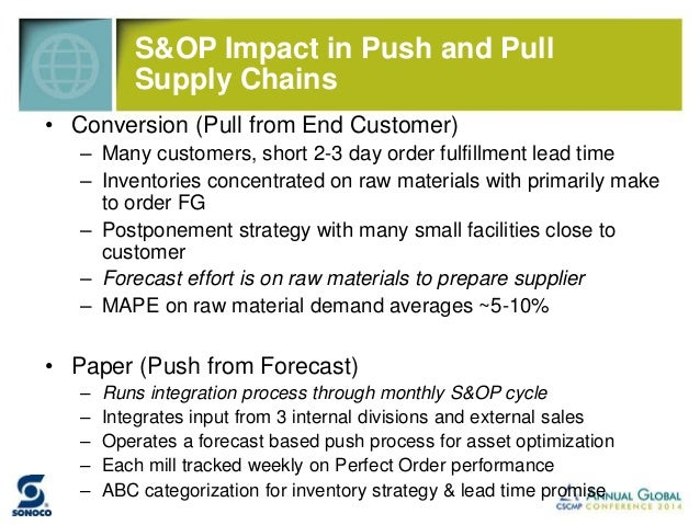 2013 Analysis of Sonoco vs Peers by REL  (producer of the annual CFO Magazine benchmark survey)  In 2005, Sonoco was 3rd Q...