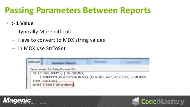 Using SSRS Reports with SSAS Cubes