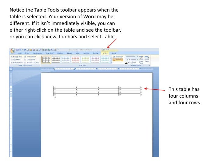 how to add columns to a table in word
