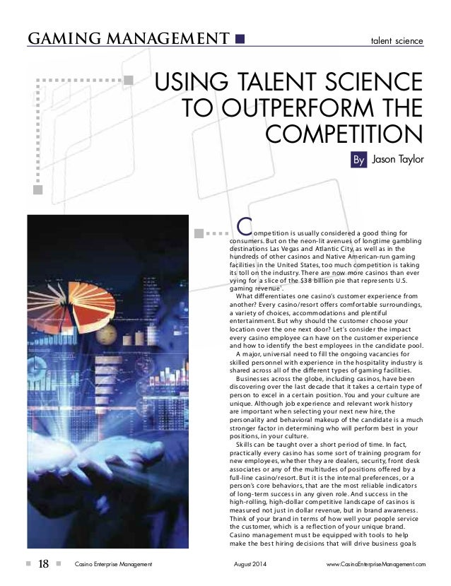 Using Talent Science To Outperform The Competition