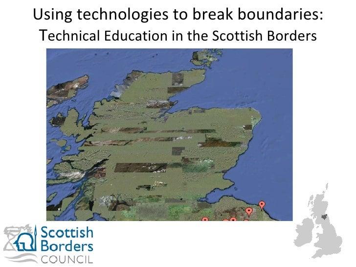 Stuart Meldrum Hawick High School Scottish Borders Council @stuartmeldrum http://stuartmeldrum.co.uk #slf11 Using technolo...