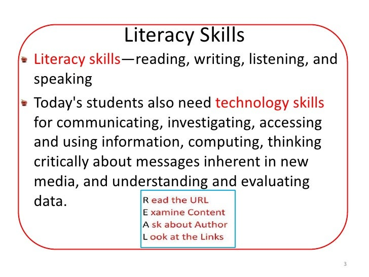 Using technology to enhance literacy skills