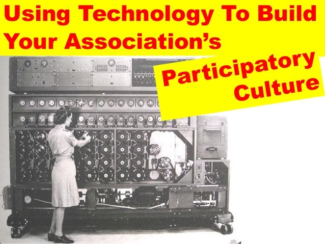 Using Technology To BuildYour Association's