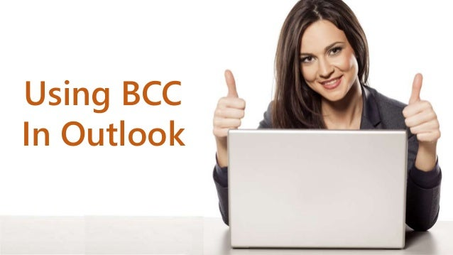 Using BCC In Outlook
