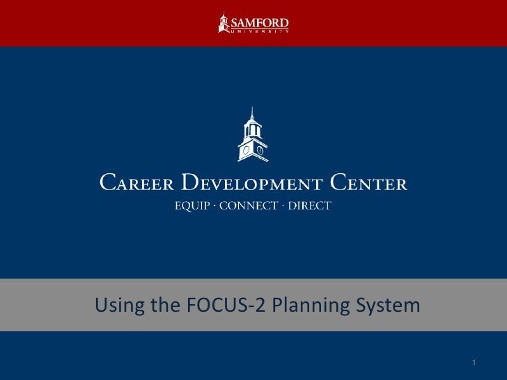 Using the FOCUS-2 Planning System