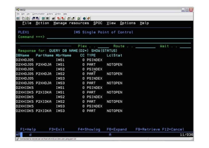 Using the ims tso spoc to manage your ims environment